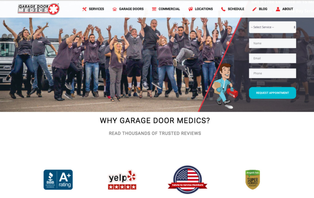 Garage Door Medics - USA