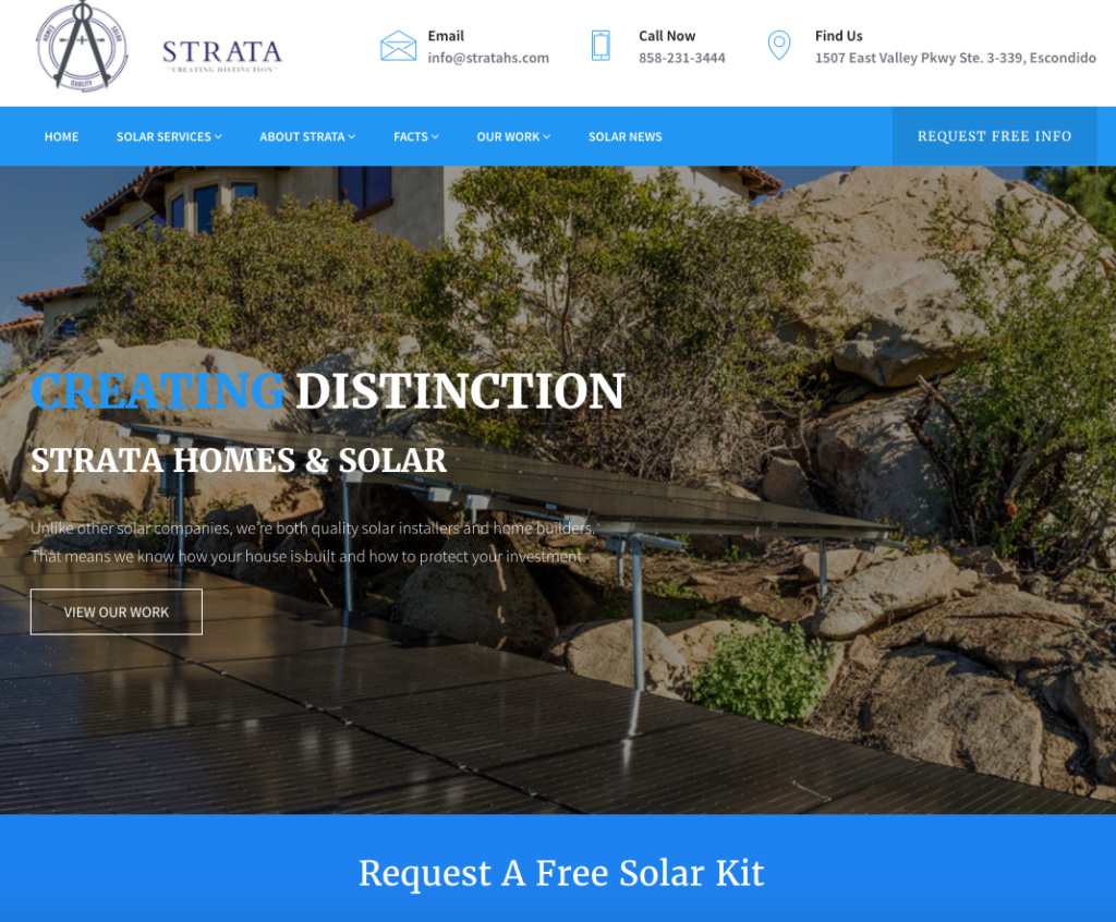 Strata Homes & Solar - Escondido, CA